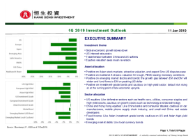 1Q 2019 Investment Outlook