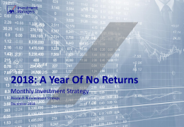 2018: A Year Of No Returns