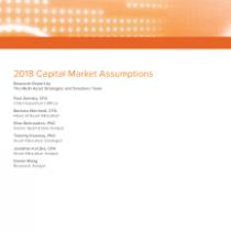 2018 Capital Market Assumptions