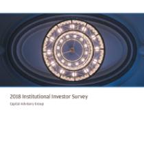 2018 Institutional Investor Survey