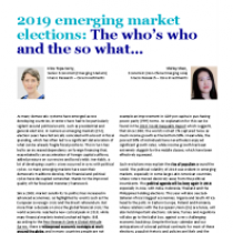 2019 emerging market elections: The who's who and the so what…