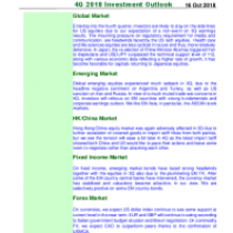 4Q 2018 Investment Outlook
