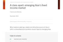 A class apart: emerging Asia's fixed income market