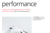 A spectrum investing approach can improve information ratio