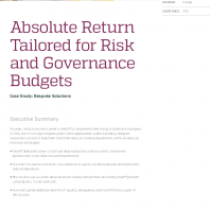 Absolute Return Tailored for Risk and Governance Budgets