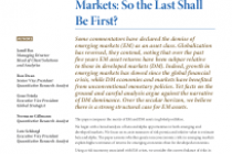 After a rip-roaring recovery from the miserable end to last year, it is easy to think of reasons to take a more cautious view of the prospects for world equity markets. In particular, analysts have steadily lowered profit forecasts around the world amid sluggish growth in the major developed economies and concern over the outlook in China. The message from bond markets is to expect more of the same, with the U.S. yield curve temporarily inverting recently and the troubling sight of negative yields on government debt once again spreading across Northern Europe and Japan. Given that the U.S. economic expansion is already the second longest in history, investors are understandably anxious about the outlook for growth and profits over the next couple of years.