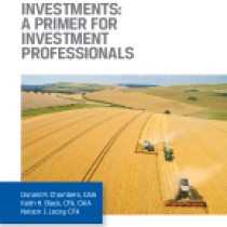 Alternative Investments: A primer for investment professionals