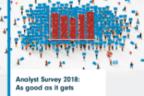 Analyst Survey 2018: As good as it gets