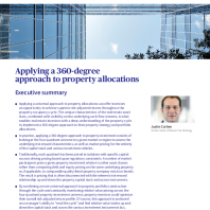 Applying a 360-degree approach to property allocations