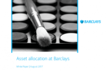 Asset allocation at Barclays