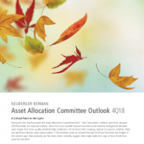 Asset Allocation Committee Outlook 4Q18