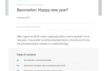 Barometer: Happy new year?