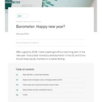 Barometer: Happy new year?