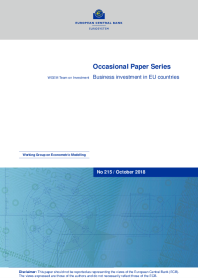 Business investment in EU countries