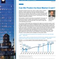 Can We Predict the Next Market Crash?