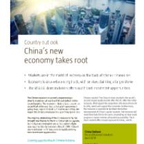 China's new economy takes root