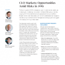 CLO Markets: Opportunities Amid Risks in 2019