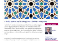 Conflict points and moving parts: Middle East update