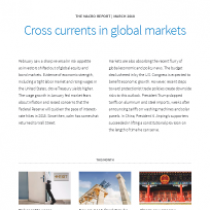 Cross currents in global markets
