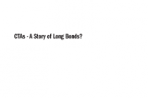 CTAs – A Story of Long Bonds?