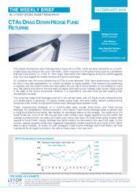Ctas Drag Down Hedge Fund Returns