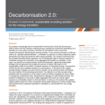 Decarbonisation 2.0