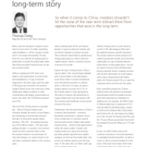 Don't lose sight of China's long-term story