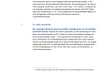Door medewerkers van de ECB samengestelde macro-economische projecties voor het eurogebied