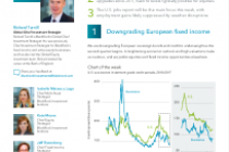 Downgrading European fixed income
