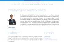Dutch Residential Mortgage Market 2018-Q3 Quarterly Update