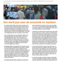 Een sterk jaar voor de economie en markten