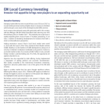 EM Local Currency Investing