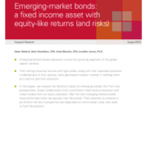 Emerging-market bonds: a fixed income asset with equity-like returns (and risks)
