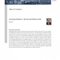 Emerging Markets—No Reward Without Risk