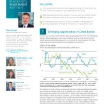 Emerging opportunities in China bonds