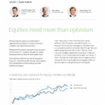 Equities need more than optimism