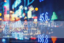 Equity Market Risk Premium Research Summary