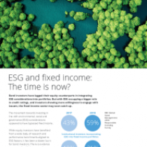 ESG and fixed income: