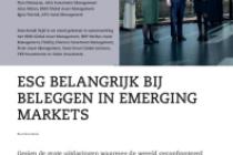 ESG belangrijk bij beleggen in emerging markets