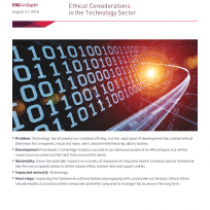 Ethical Considerations in the Technology Sector