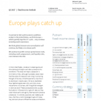 Europe plays catch up