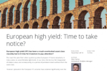 European high yield: Time to take notice?