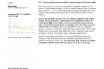 EZ – Energy prices and core inflation should support inflation in May