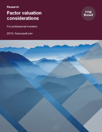 Factor valuation considerations