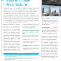 Five reasons to invest in global infrastructure
