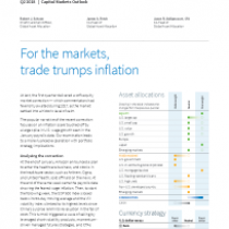 For the markets, trade trumps inflation