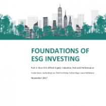 Foundations of ESG Investing