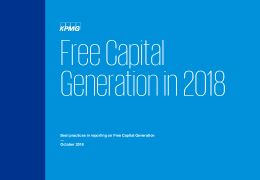 Free Capital Generation in 2018