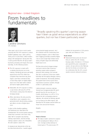 From headlines to fundamentals