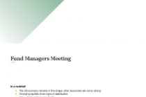 Fund Managers Meeting